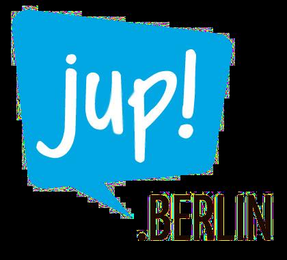 Logo jup! das Informations- und Beteiligungsportal für Jugendliche